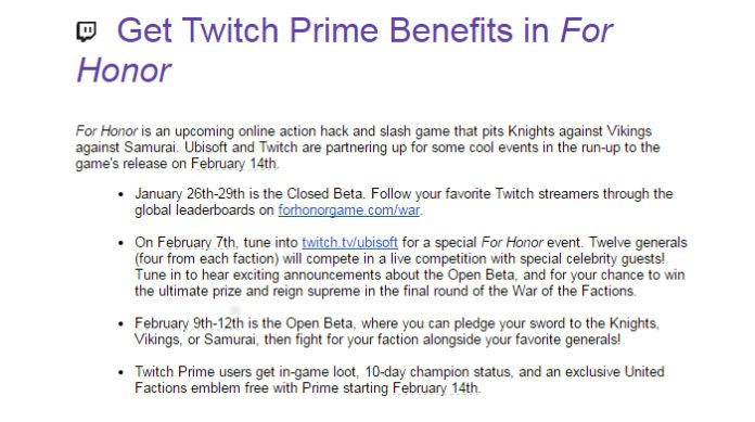 for-honor-open-beta-twitch-prime-696x389