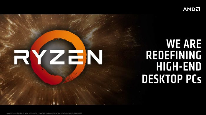 AMD's RYZEN is here, competing against Intel and it promises a lot