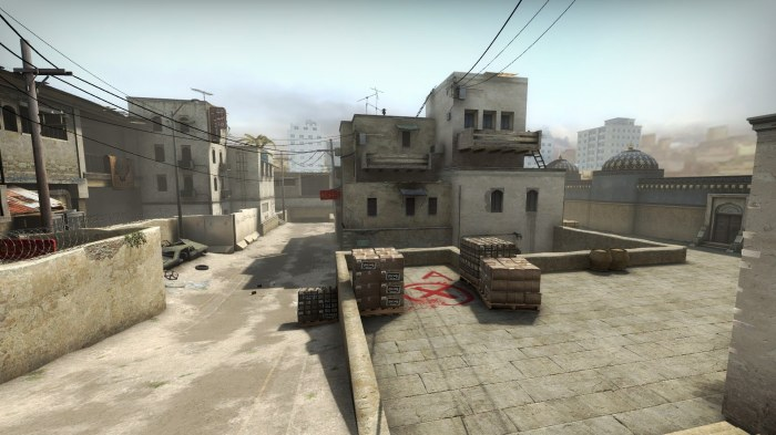 An old map retires from the competitive category of CS:GO