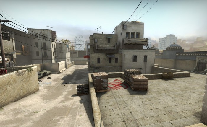An old map retires from the competitive category ofCS:GO