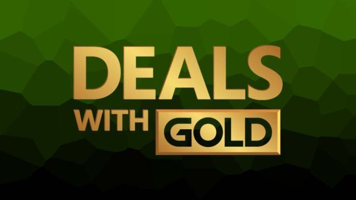 This Week's Xbox One And Xbox 360 Deals With Gold