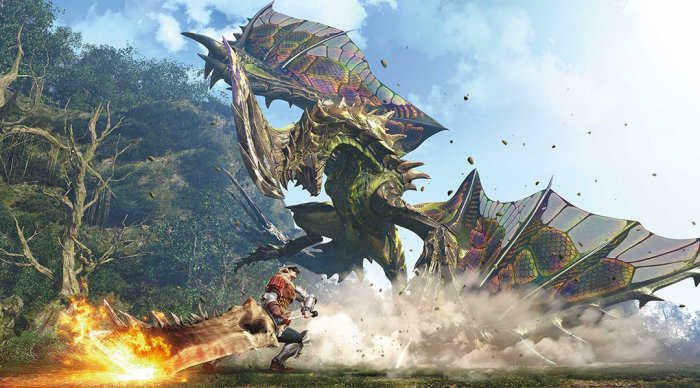 Monster Hunter Games Might Arrive To Nintendo Switch