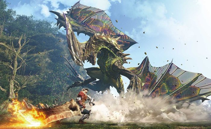Monster Hunter Games Might Arrive To NintendoSwitch